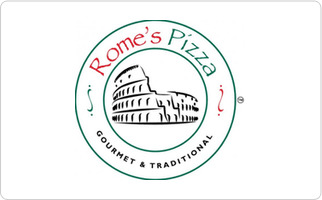 Rome's Pizza Gift Card