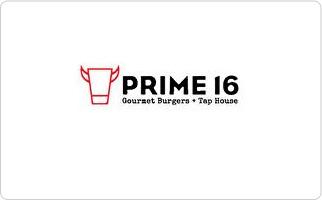 Prime 16 Gift Card