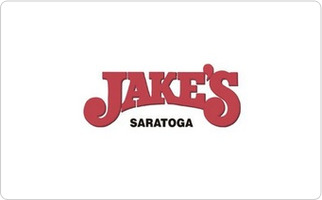 Jake's of Saratoga Gift Card