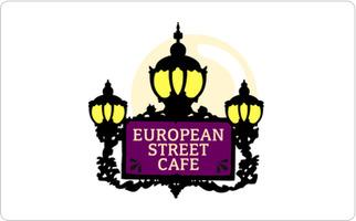 European Street Cafe Gift Card