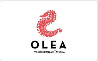 Olea Mediterranean Taverna Gift Certificate