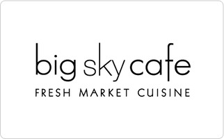 Big Sky Cafe Gift Card