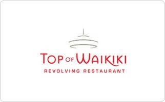 Top of Waikiki Gift Card
