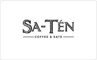 Sa-Ten Coffee and Eats Gift Card