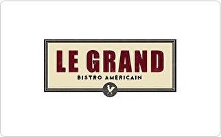 Le Grand Bistro Americain Gift Card