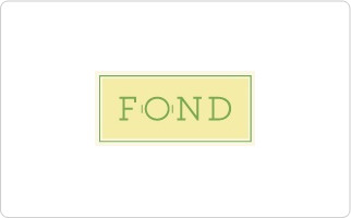 Fond Gift Certificate