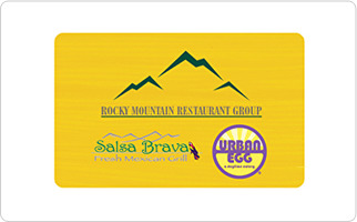 Rocky Mountain Restaurant Group Gift Card