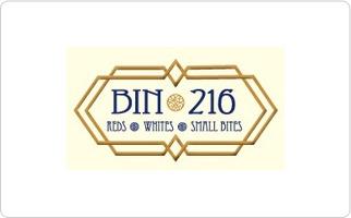 Bin 216 Gift Card