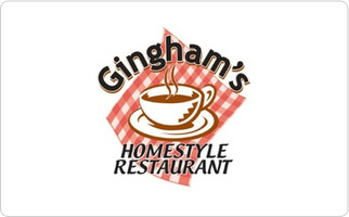 Gingham's Homestyle Restaurant Gift Card