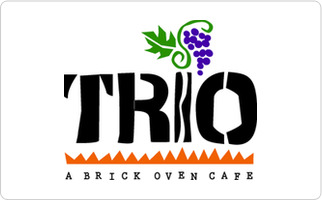 Trio A Brick Oven Cafe Gift Card