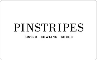 Pinstripes Gift Card