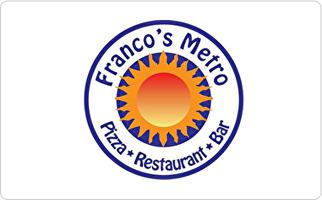 Franco's Metro Gift Card