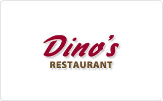 Dino's Restaurant & Bar Gift Card