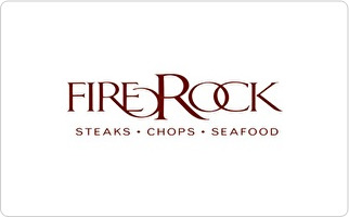 Firerock Steakhouse Gift Card