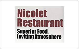 Nicolet Restaurant of De Pere Gift Card