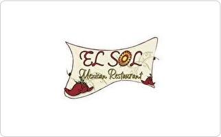 El Sol Mexican Restaurant Gift Card