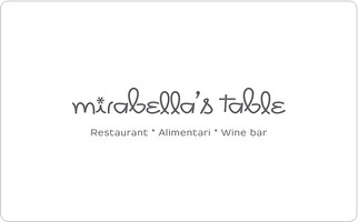 Mirabella's Table Gift Card