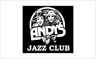 Andy's Jazz Club Gift Card