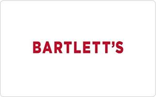 Bartlett's Gift Card