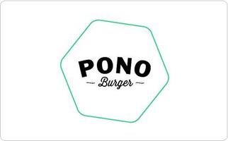 Pono Burger Gift Card