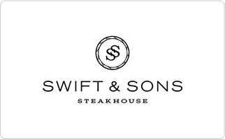 Swift & Sons Steakhouse Gift Card