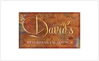 David's Restaurant & Lounge Gift Card