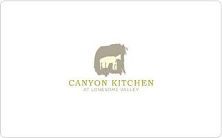 Canyon Kitchen Gift Card