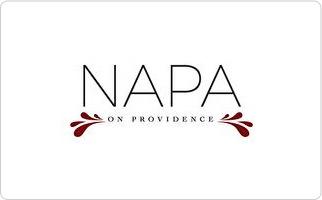 Napa on Providence Gift Card