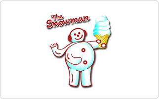 The Snowman Ice Cream Gift Card