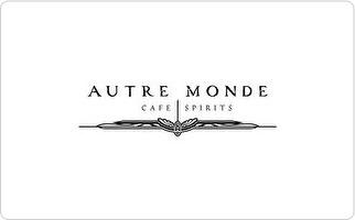 Autre Monde Cafe & Spirits Gift Card