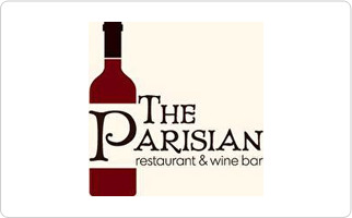 The Parisian Restaurant & Wine Bar Gift Card