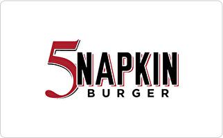 5 Napkin Burger Gift Card