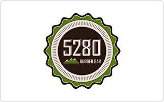 5280 Burger Bar Gift Card