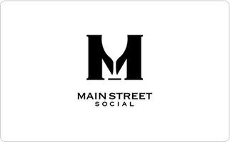 Main Street Social Gift Card