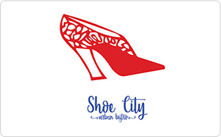 Shoe City Urban Bistro Gift Card