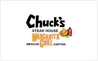 Chuck's Steak House | Margaritagrill Gift Certificate