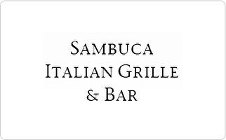 Sambuca Italian Grille & Bar Gift Certificate