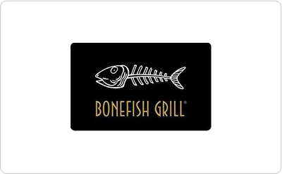 Bonefish Grillgift Cards From Quickgifts