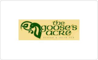 The Goose's Acre Bistro & Irish Pub Gift Card