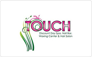 Touch Discount Day Spa Gift Card