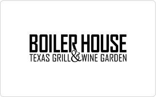 Boiler House Texas Grill & Wine Garden Gift Card