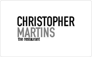 Christopher Martins Gift Card