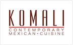 Komali Contemporary Mexican Cuisine  Gift Card