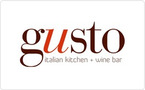 Gusto Italian Kitchen + Wine Bar Gift Card