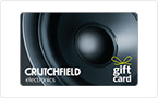 Crutchfield Electronics Gift Card