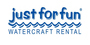 Just For Fun Watercraft Rental Gift Cards