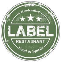 Label Restaurant Gift Card