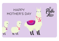 Alpacas Happy Mother's Day